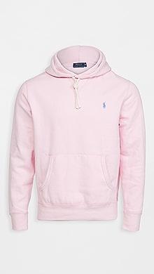 폴로 랄프로렌 Polo Ralph Lauren Long Sleeve Fleece Knit,Pink