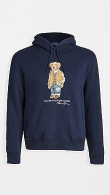 폴로 랄프로렌 Polo Ralph Lauren Polo Bear Magic Fleece Hoodie,Navy