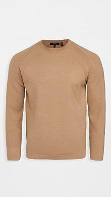 띠어리 Theory Latham Crew Sweater,Sepia