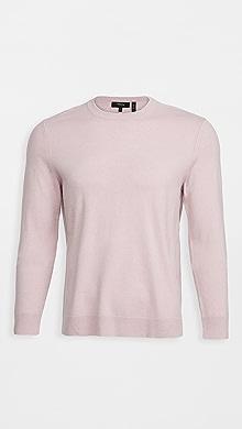 띠어리 Theory Hilles Cashmere Sweater,Thistle