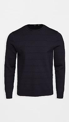 띠어리 Theory Gregson Merino Wool Sweater,Baltic
