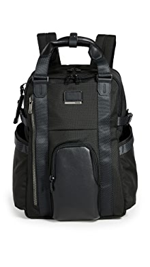 투미 Tumi Alpha Bravo Kings Backpack Tote,Black