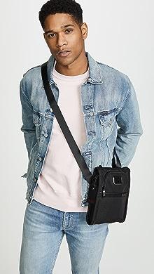 투미 Tumi Alpha Small Pocket Bag,Black