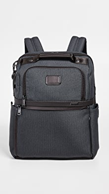 투미 Tumi Alpha Slim Solutions Brief Backpack,Anthracite