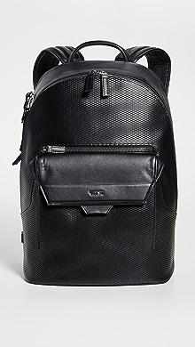 투미 Tumi Ashton Marlow Backpack,Black Perforated