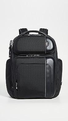 투미 Tumi Arrive Barker Backpack,Black