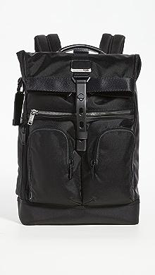 투미 Tumi Alpha Bravo Lance Backpack,Black