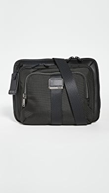 투미 Tumi Alpha Bravo Jackson Crossbody Bag,Black