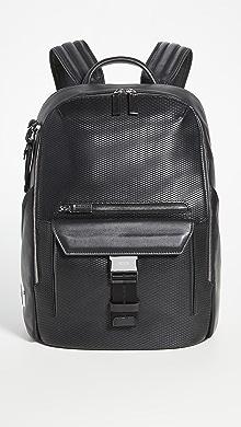 투미 Tumi Ashton Doyle Backpack,Black Perforated
