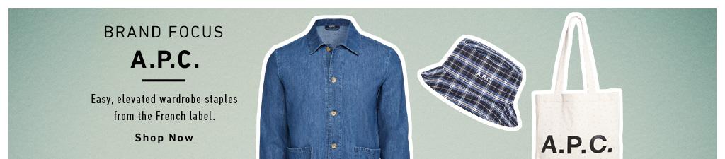 Shop APC: The labels latest cool picks
