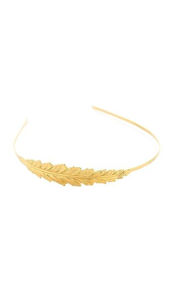 Avigail Adam Feather Headband