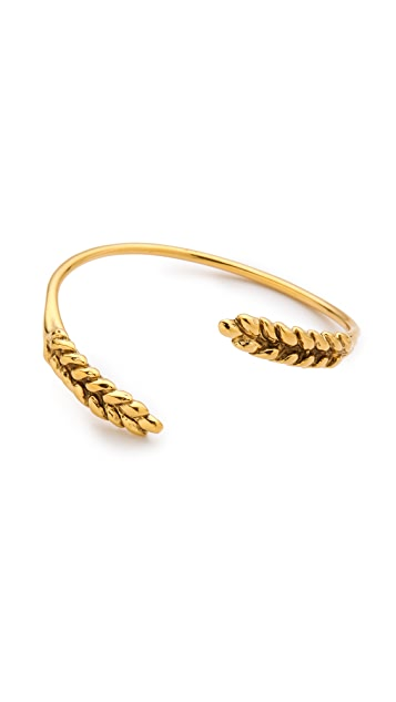 Aurelie Bidermann Wheat Spikes Bangle