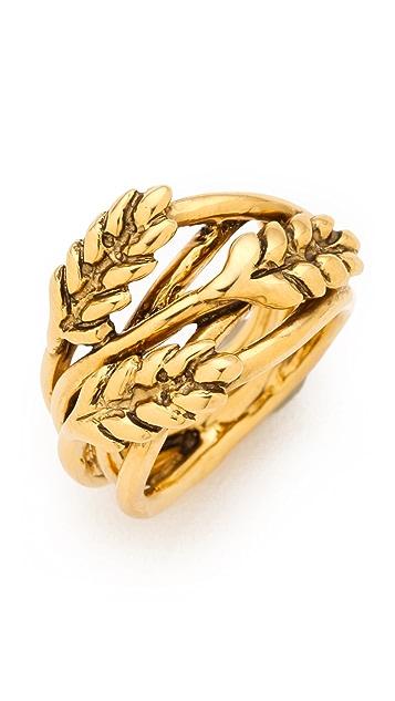 Aurelie Bidermann Wheat Ring