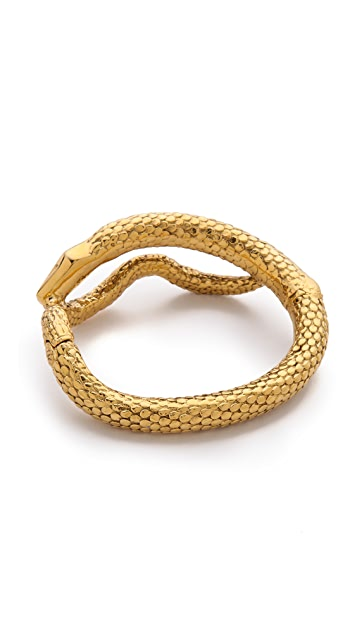 Aurelie Bidermann Articulated Snake Bracelet