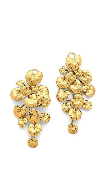 Aurelie Bidermann Nympheas Earrings