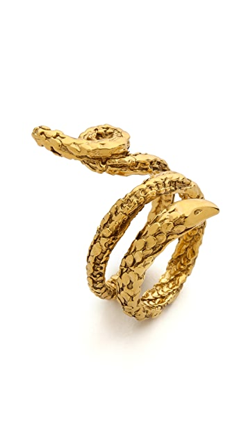 Aurelie Bidermann Snake Ring