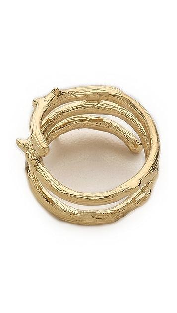 Aurelie Bidermann Rosebud Ring