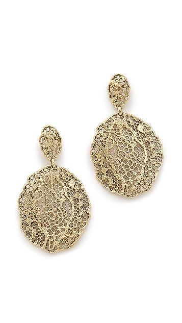 Aurelie Bidermann Lace Earrings