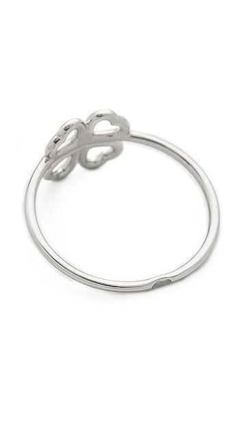 Aurelie Bidermann Mini Clover Ring