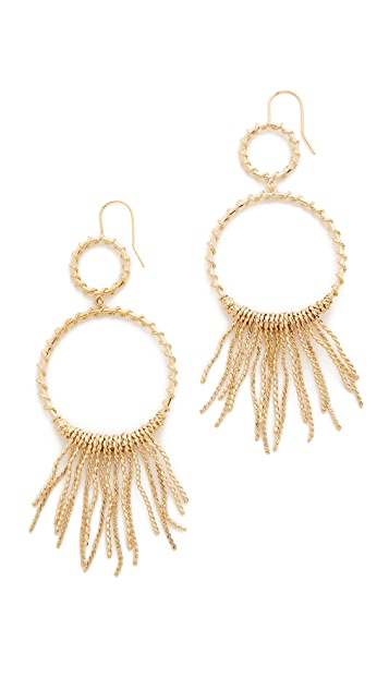 Aurelie Bidermann Marisa Small Pendant Earrings