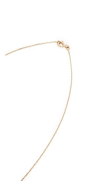 Aurelie Bidermann Fine Jewelry Clover Necklace