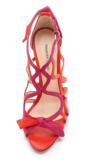 Alexandre Birman Caged Stiletto Sandals