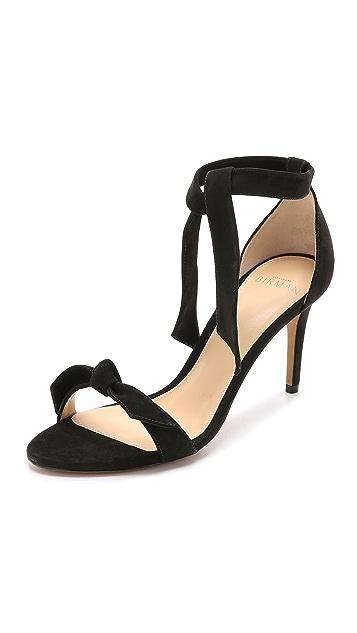 Alexandre Birman Suede Tie Sandals