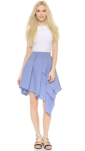 a.c.e. Rosy Poplin Skirt