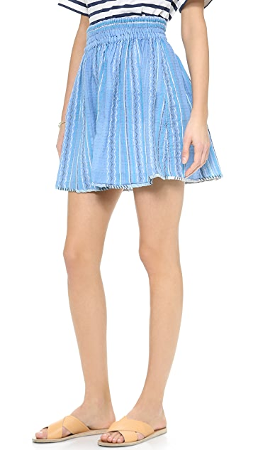 ace&jig Ra Ra Reversible Miniskirt