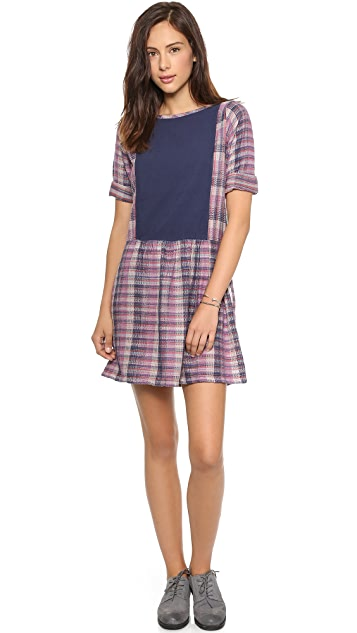 ace&jig Peasant Mini Dress