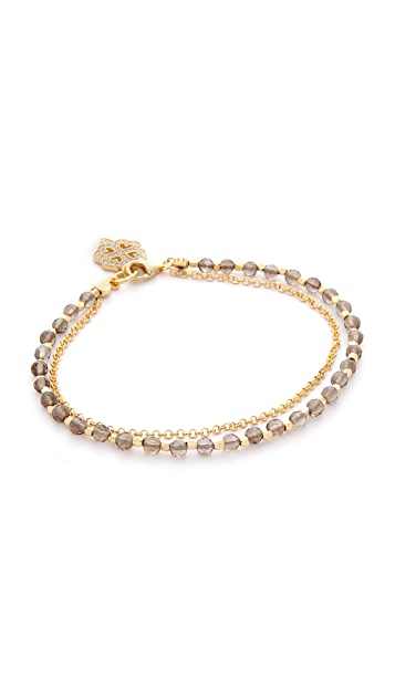Astley Clarke Smoky Quartz Biography Bracelet