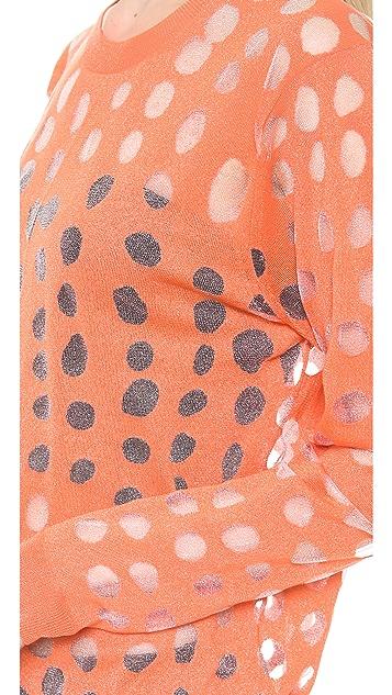 Acne Studios Ninah Dots Abstract Sweater