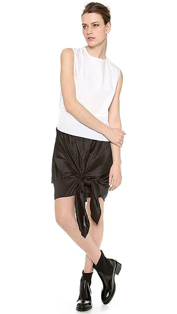 Acne Studios Ines Shantung Skirt