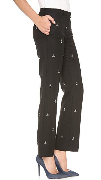 Acne Studios Studded Suiting Pants