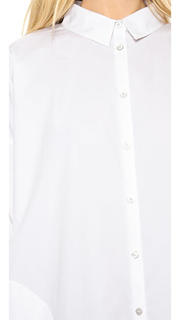 Acne Studios Lash Poplin Shirtdress