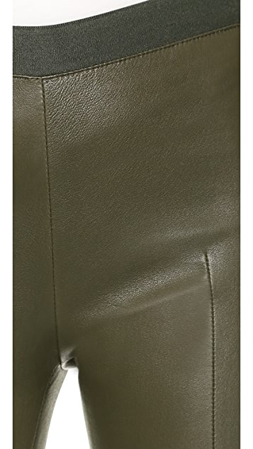 Acne Studios Clean Leather Pants