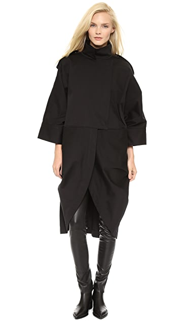 Acne Studios Ezra Cape Coat