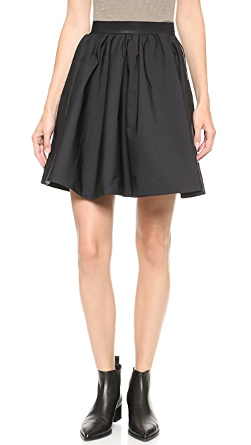 Acne Studios Romantic Taffeta Skirt