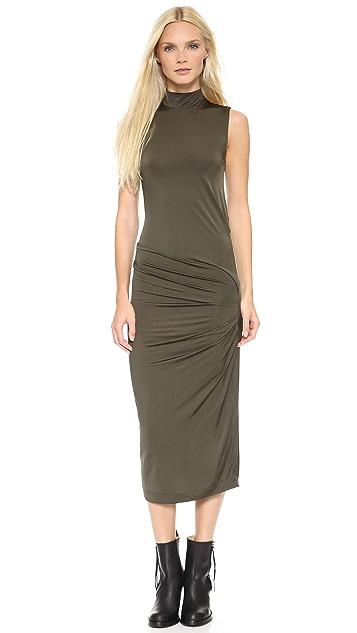 Acne Studios Virl Drape Dress