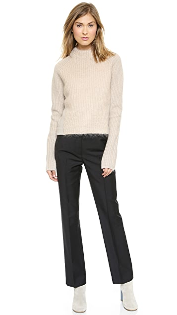 Acne Studios Loyal Mixed Knit Sweater