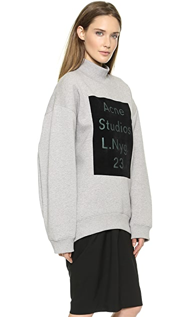 Acne Studios Beta Flock Sweatshirt