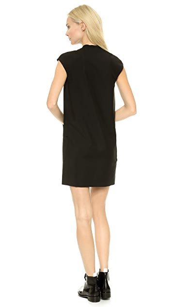Acne Studios Palmer Wool Shift Dress