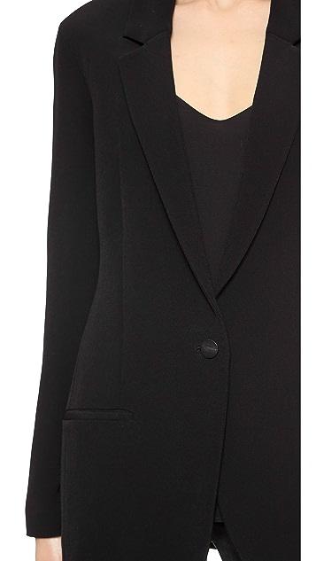 Acne Studios Fearn Crepe Suit Jacket