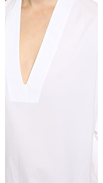 Acne Studios Cedar Tech Poplin Dress