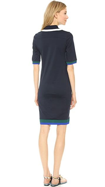 Acne Studios Nadene Pique Polo Dress