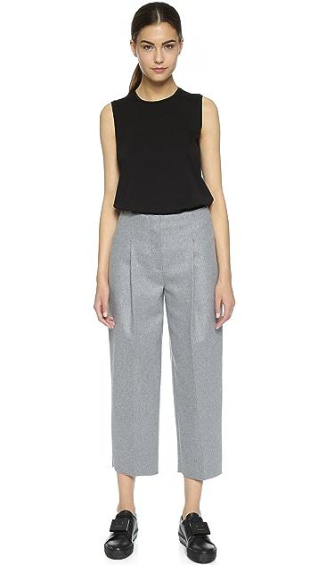 Acne Studios Murol Raw Hem Trousers