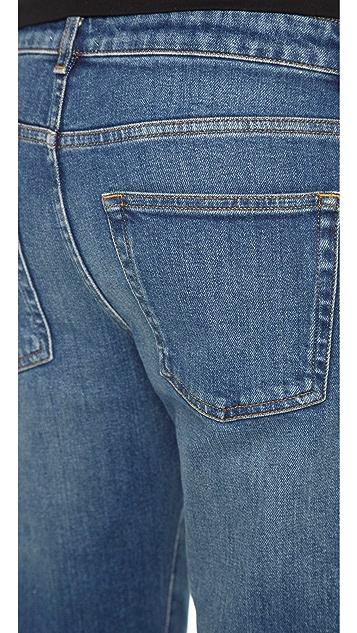 Acne Studios Row Slouchy Straight Jeans