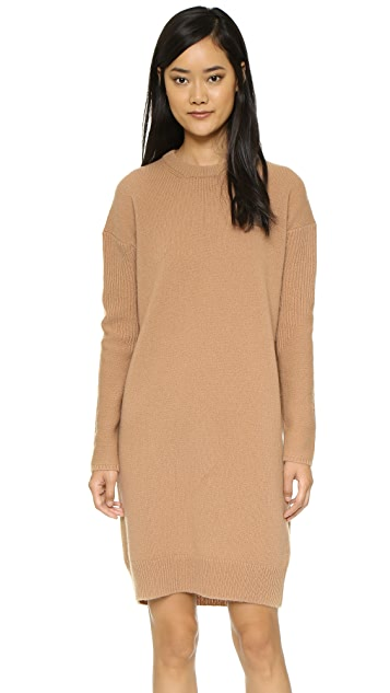 Acne Studios Phebe Shet Wool Sweater Dress  01af73e17