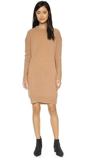 Acne Studios Phebe Shet Wool Sweater Dress