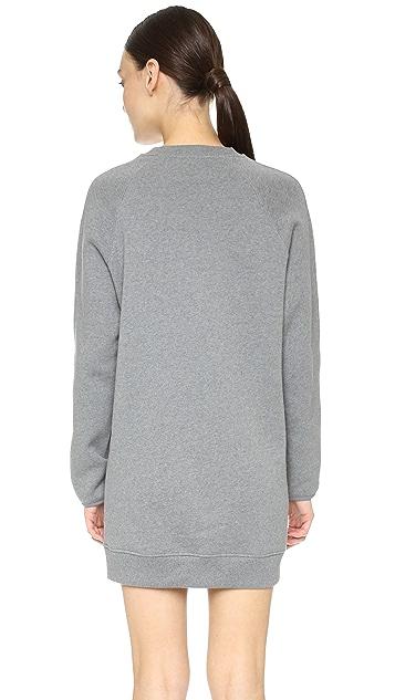 Acne Studios Fiera Sweatshirt Dress